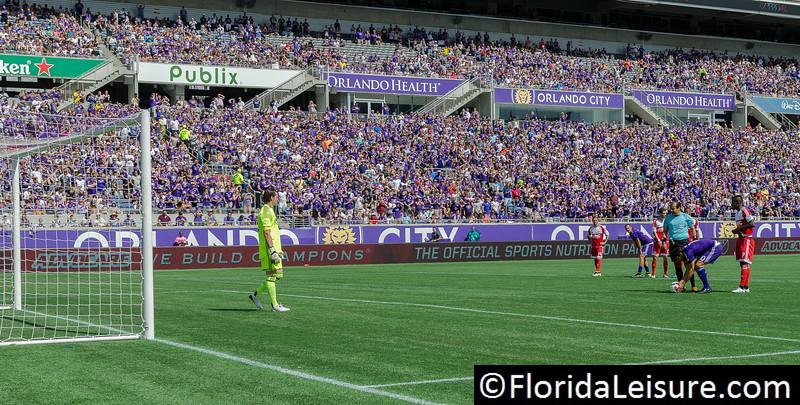Orlando City Soccer 2 New England Revolution 2, Orlando Citrus Bowl, Orlando, Florida - 17th April 2016 (Photographer: Nigel G Worrall)
